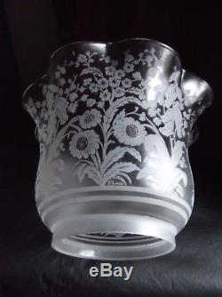 A Victorian, signed St Louis, Oil Lamp Shade. 4 fit