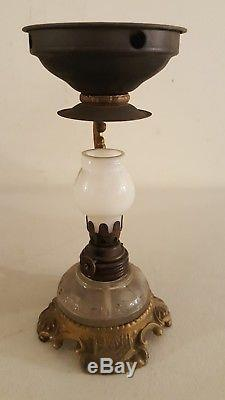 Antique 19th C. Victorian Quack Medicine Oil Lamp Vaporizor with Original Box