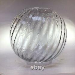 Antique Baccarat Bambous Oil Lamp French Crystal Oil Lamp