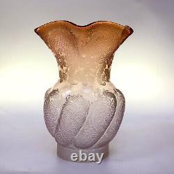 Antique Etched Oil Lamp Shade Peg Lamp Shade Gaudard Lamp Shade Kosmos Shade