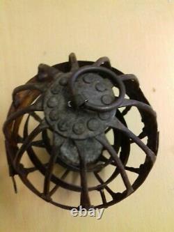 Antique Gimbal Lamp Lantern Gyroscope Whale Oil Lamp