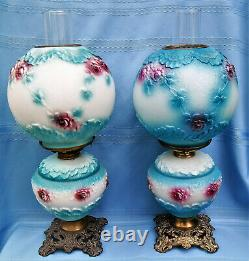 Antique Gone With The Wind Parlor Banquet Puffy Design (gwtw) 3d Lamprare