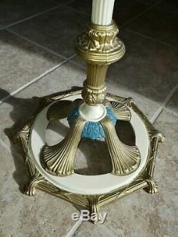 Antique Oil Aladdin Floor Lamp & Shade Nice! FREE Shipping