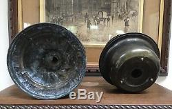 Antique Veritas Oil Lamp Bentral Draught Burner Drop In Font Victorian