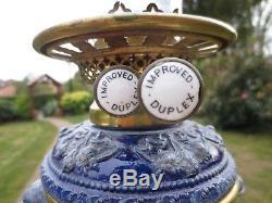 IMPROVED DUPLEX VICTORIAN DUPLEX OIL LAMP Reinhold Hanke Westerwald