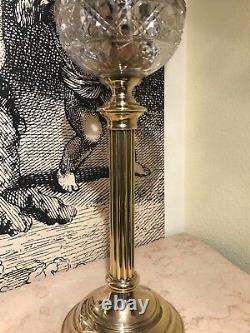 RARE Victorian Antique Oil Kerosine Kerosene Lamp