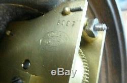 Rare Victorian Night Clock Candle / Oil Lamp Mystery Clock