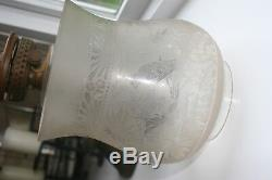 Rare oil lamp/ Hinks Patent