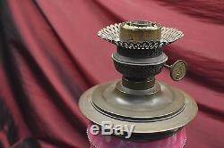 Best Lamp Ever ever victorian pink glass oil lamp mary gregory best decoration