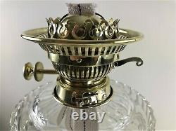 Stunning Large Victorian Evered & Co Oil Lamp