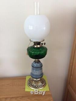 Victorian Duplex Oil Lamp