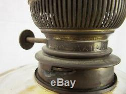 Victorian Matador Brenner Brass Oil Lamp